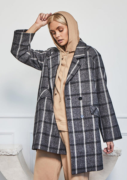 Zoe Kratzmann sequence coat - available at The White Place