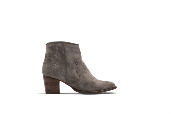 Janie Suede Ankle Boot