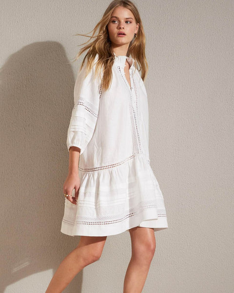 White mingle dress - free shipping