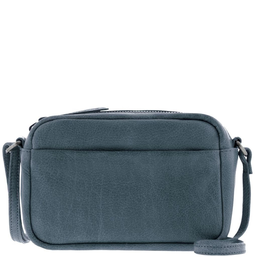 steel leather crossbody bag - free swhipping in australia