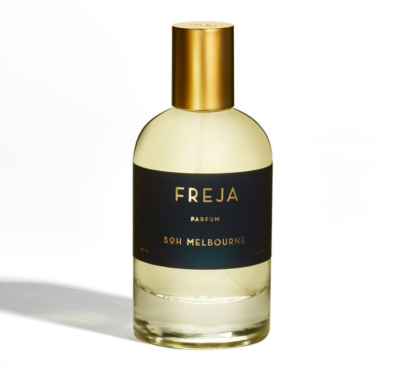 SOH Freja perfume - available at the white place, orange