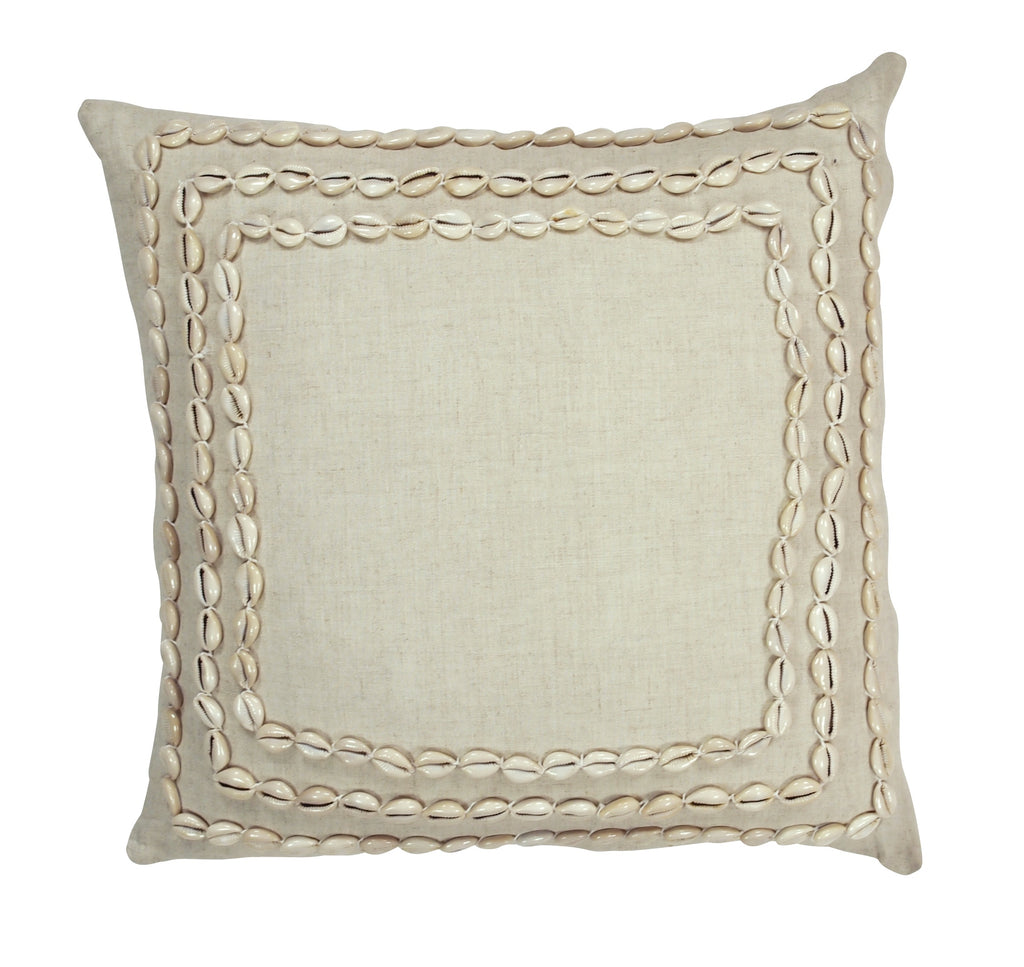 MRD clorise shell cushion available at the white place, orange nsw