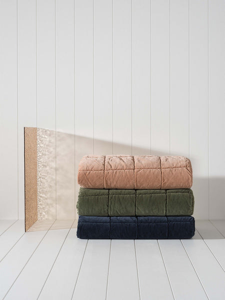 Citta velvet throws available at the white place, orange nsw