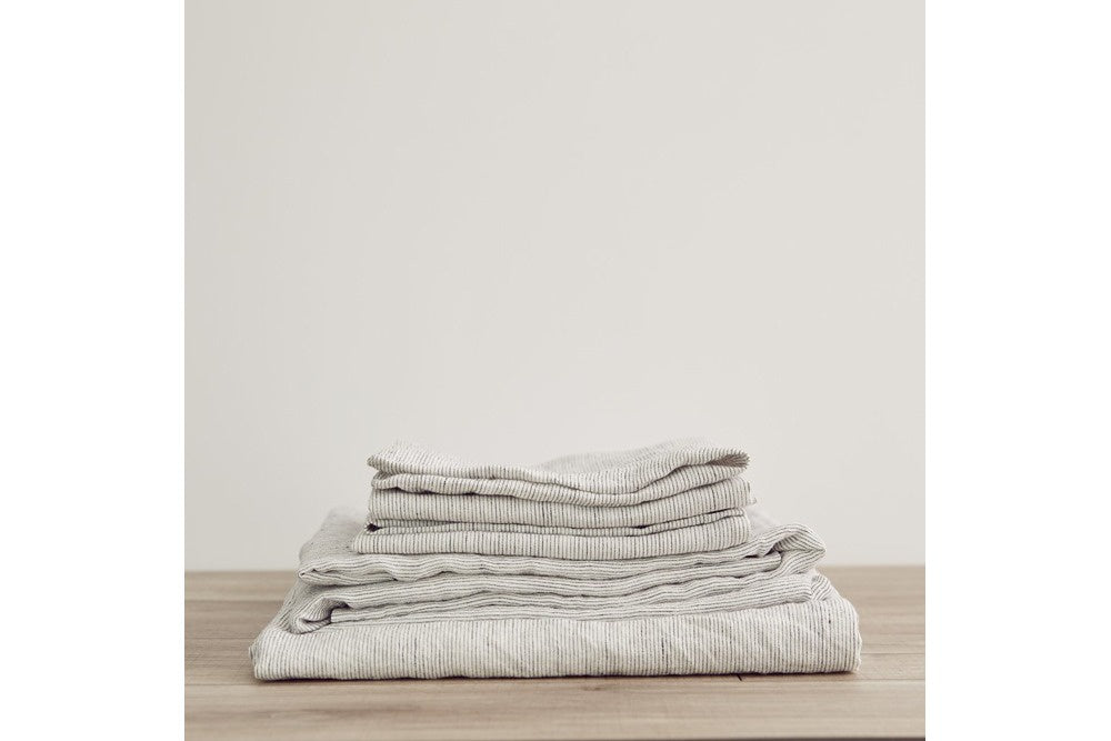 Cultiver linen sheet set  - available at the white place, orange nsw
