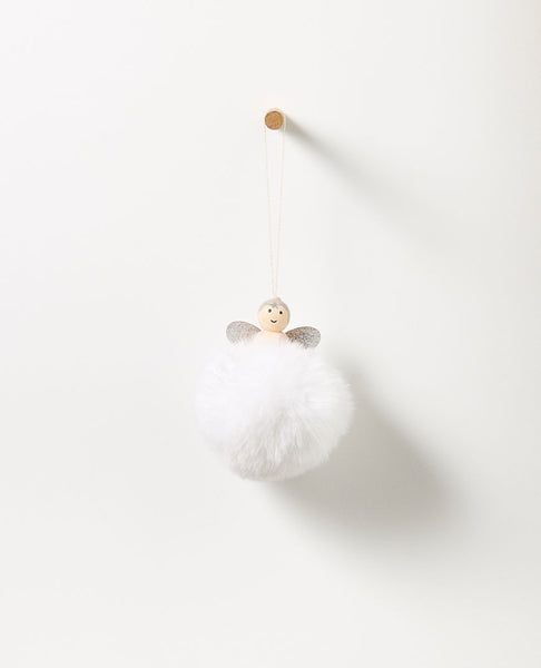 Starlight Hanging PomPom Angel