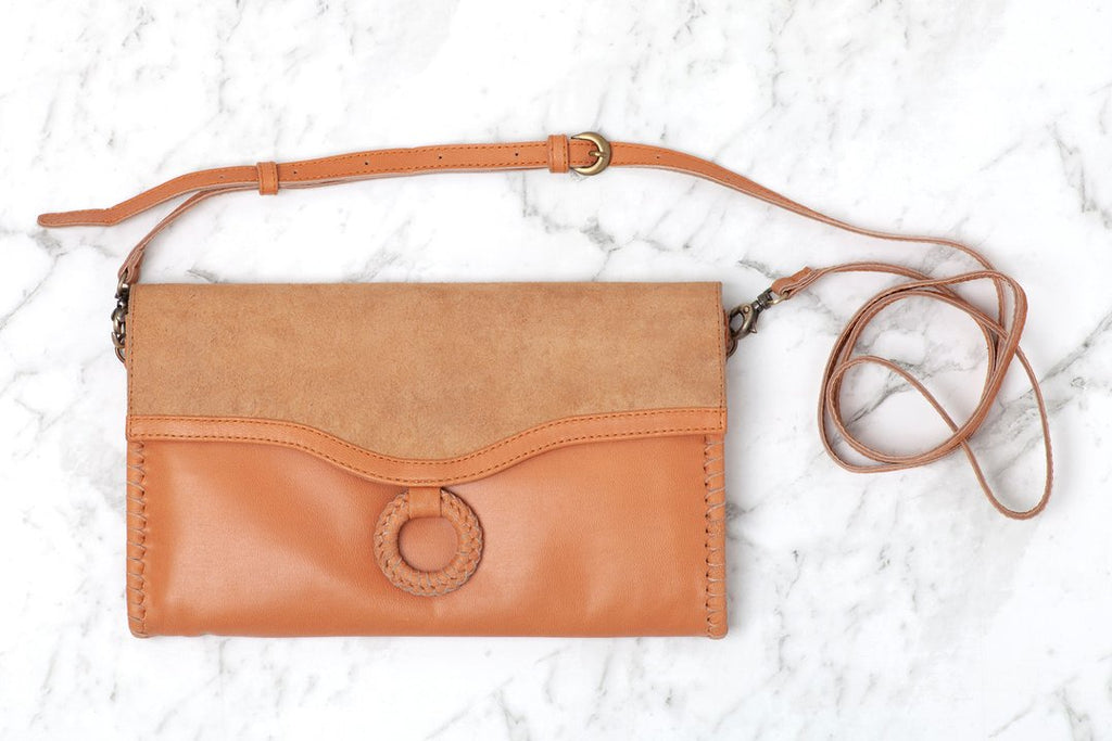 Agnes leather clutch by Ovae - free shipping