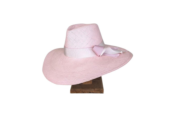 Penelope Haddrill Annaleise Hat in pink, available for purchase at the white place, orange nsw. shipping available