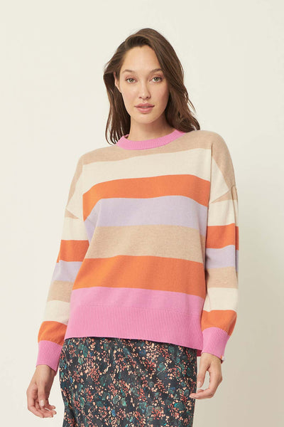 The Dreamer Label taylor rainbow knit
