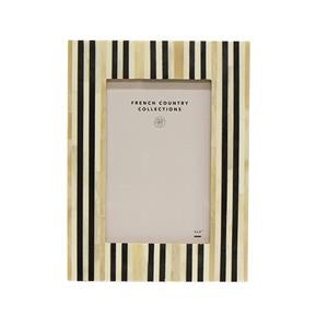 stripe bone frame - at the white place, orange