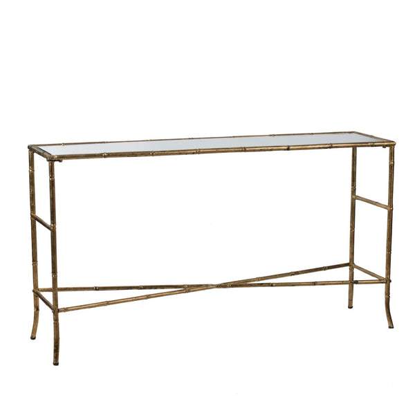 Florabelle gold console - available at the white place, orange