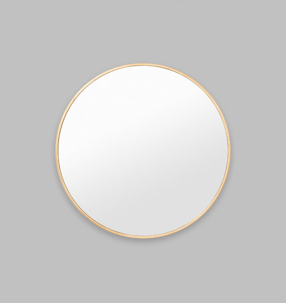 Slim frame mirror