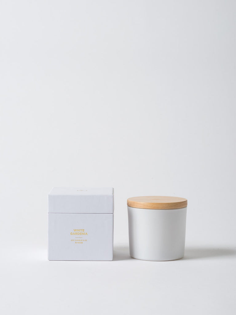 Soy candle w Wooden lid