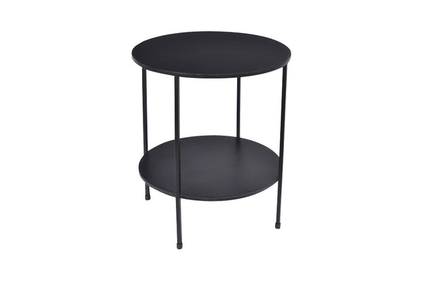 Tiered metal Table - Black