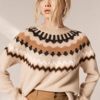 Manor patterned knit