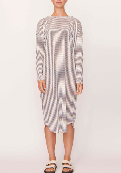 Stripe linen dress by Pol Clothing - free shipping