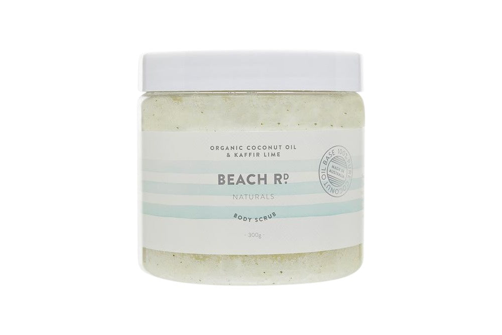 Organic Coconut Oil and Kaffir Lime Body Scrub