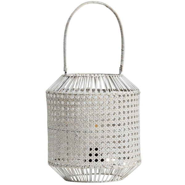 pavilion white wash lantern with globe - available at the white place, orange nsw