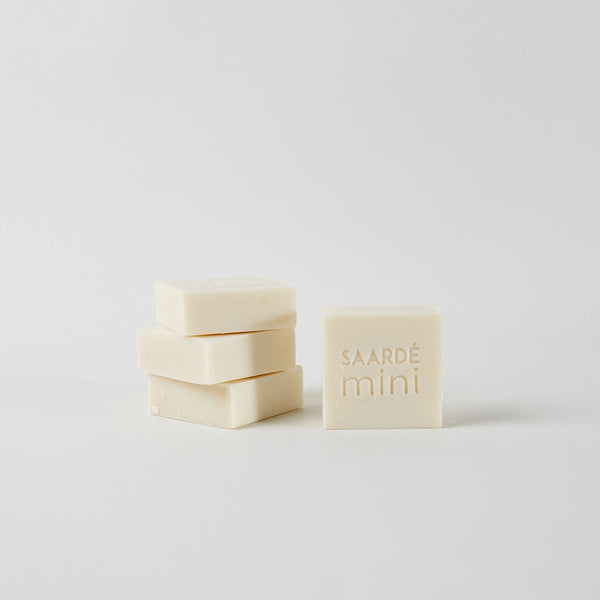 Saarde baby soap - available at the white place, orange