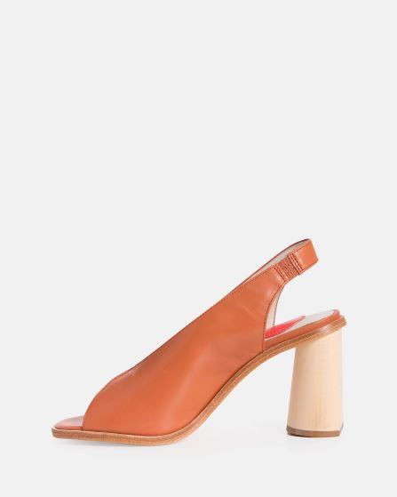 tan leather heel - available at the white place, orange nsw