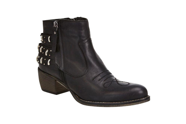 Estilo Emporio Black Rancher Boot