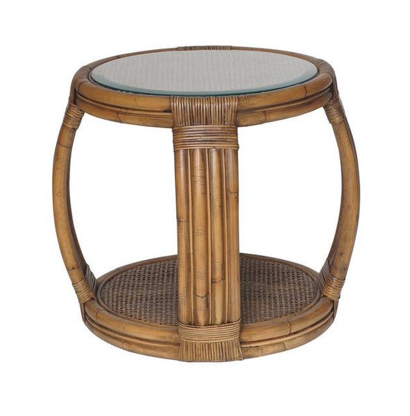 One World Cayman Side Table - available at The White Place, Orange