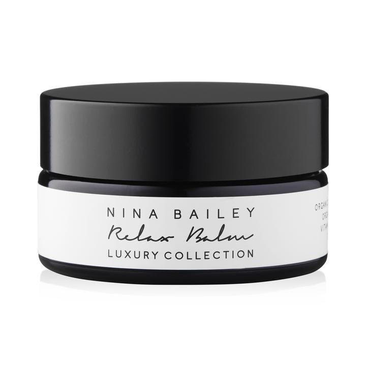 Nina Bailey relax balm - free shipping from the white place, orange