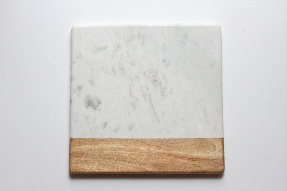 indigo love appetiser marble and wood cheese board - available at the white place, orange nsw