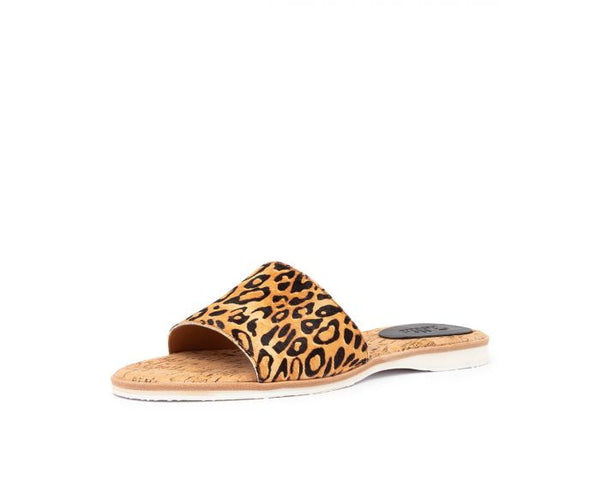 leopard sandal - free shipping