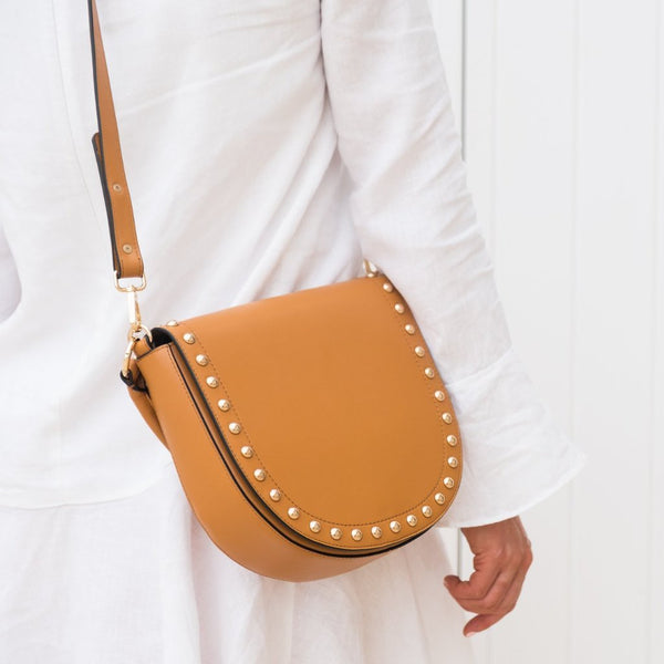 Nikki Williams Studded U Bag - free shipping