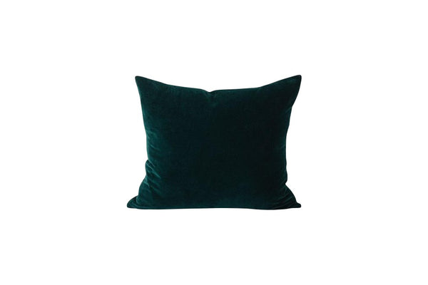 forest cotton velvet cushion