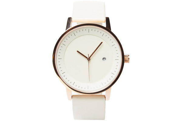 earl 42mm - white / gold