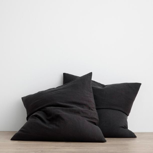 Linen Euro cushion covers