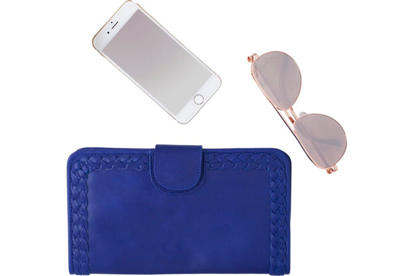 leather wallet royal