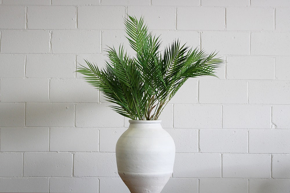 artificial palm phoenix stems available for hire. add to a pot or urn to create a tropical look for your party, wedding or event. artifical greenery available for hire in orange, bathurst, dubbo and central west nsw.