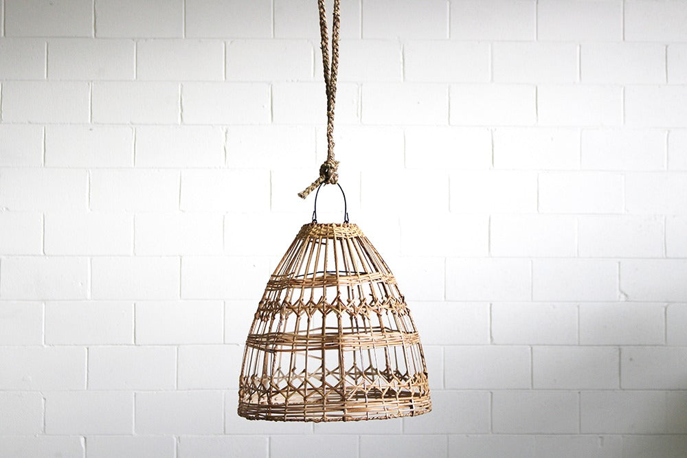 handwoven natural pendant light available for hire - decorate marquees and receptions for weddings and parties. available for hire in orange, bathurst and central west nsw