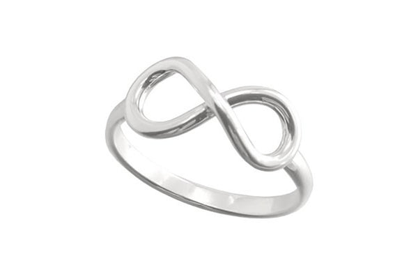 infinity ring sterling silver