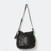 Black leather handbag - free shipping in australia