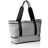 grey nappy bag - prene bags at the white place, orange