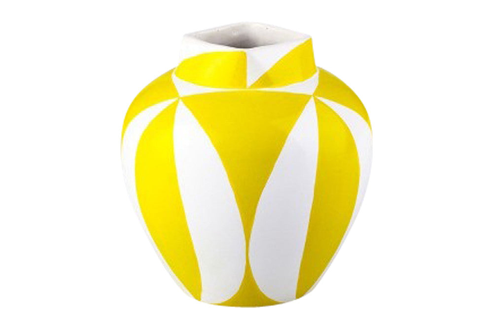Yellow pop Vase