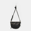 black leather bag by juju & co - free shipping in australia