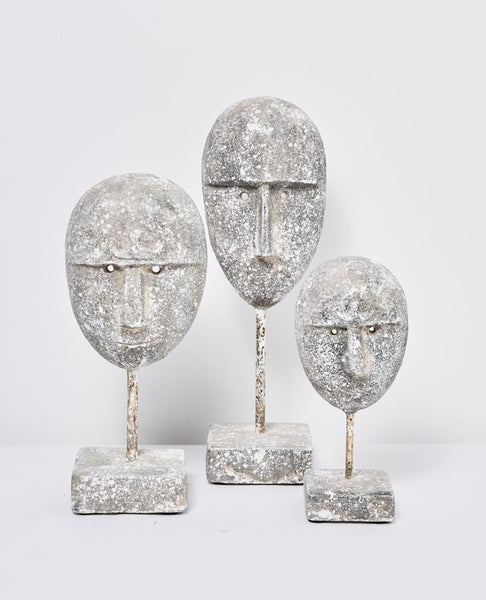 Papaya Masa Sculpture - available at the white place, orange