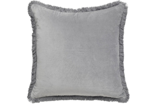 Velvet fringe cushion 60 x 60