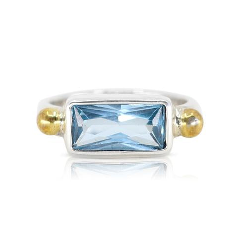 Celine topaz ring by Toni May - available at the white place, orange