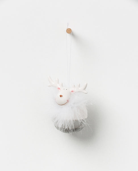 North Pole hanging reindeer
