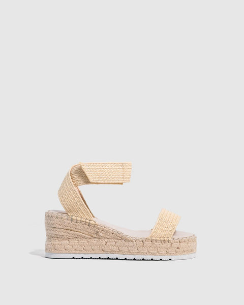 Zoe Kratzmann Prime wedge in natural - free shipping in Australia