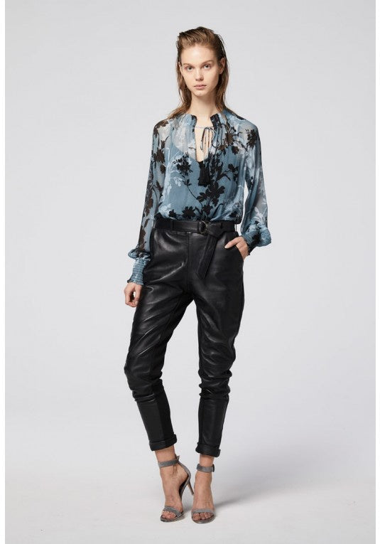 Once Was leather pants - free shipping in australia
