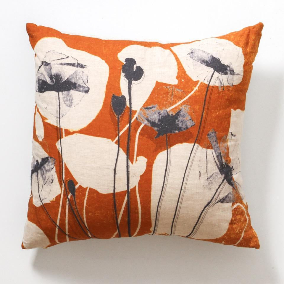 indigo love collectors - overlay cushion, available at the white place, orange nsw
