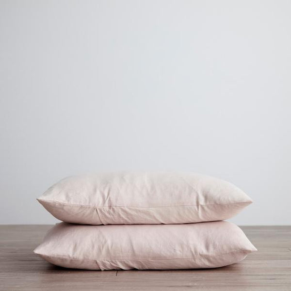 Standard Linen Pillowcases - set of 2