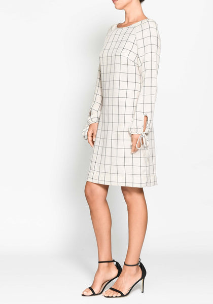 Pol clothing - grid shift dress. Free shipping