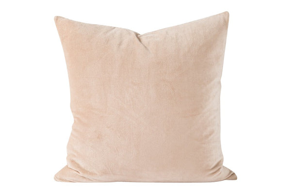 Cotton velvet cushion - 55x55cm